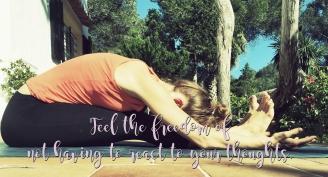 Fold to unfold Annika Yoga Never Mind Just Be Ibiza Shiatsu Massage