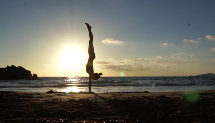 Never Mind Just Be annika sukup yoga shiatsu massage ibiza handstand workshops