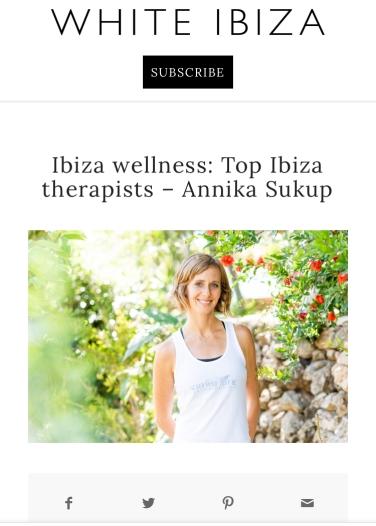 Annika Shiatsu Ibiza Top 10 Therapists Ibiza